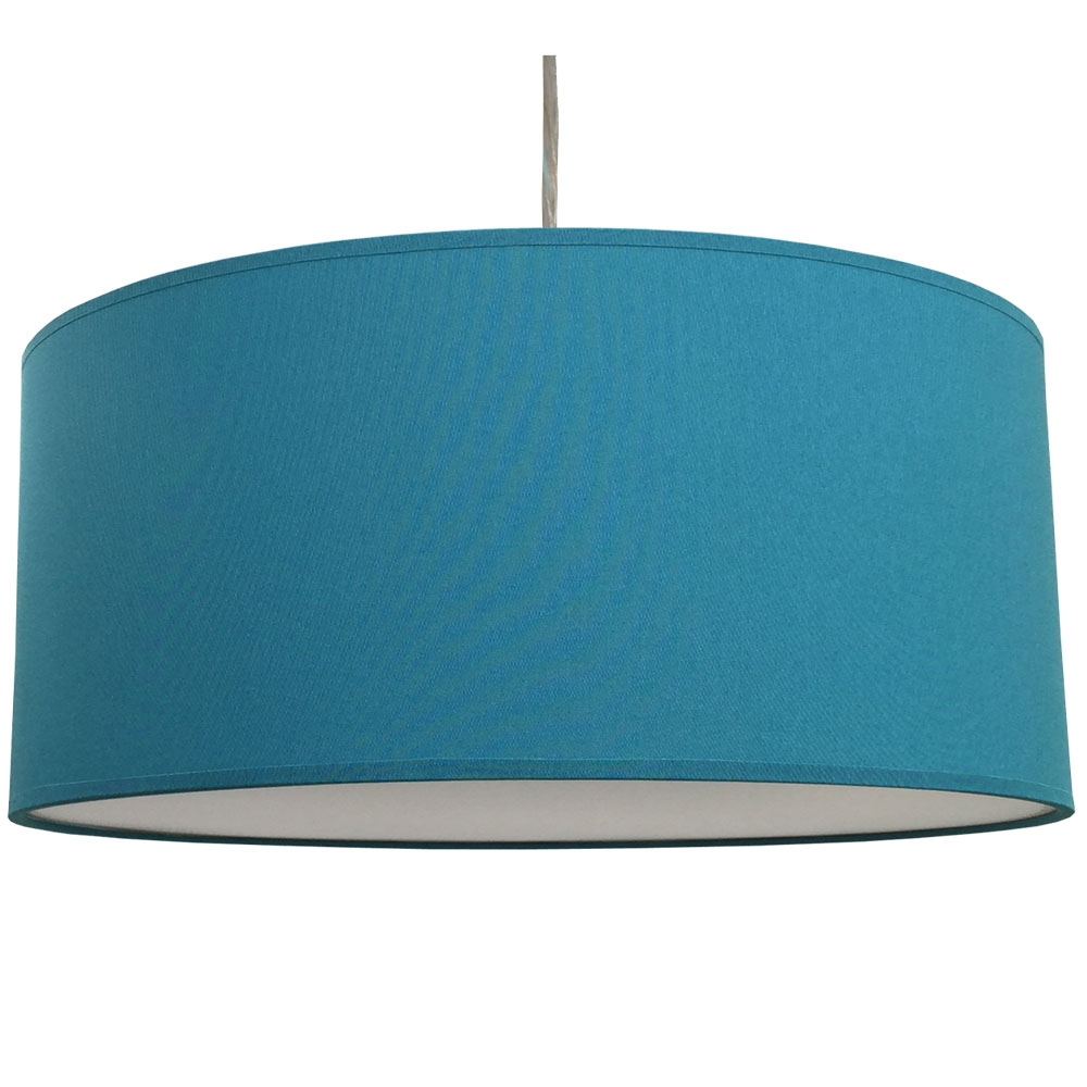 Drum Ceiling Shade Peacock
